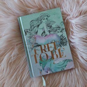 Disney Ariel Free to Be Journal